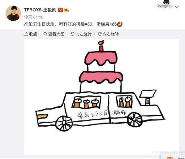 小酷日报|连续六年卡点送祝福!王俊凯画AE86为周杰伦庆生