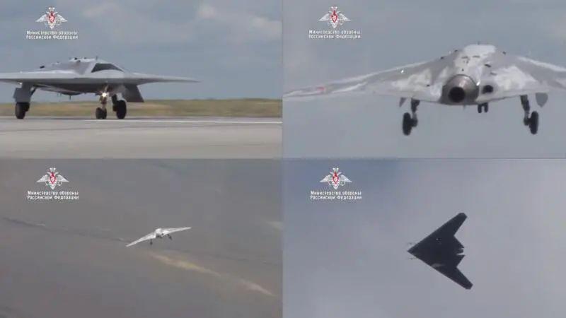 俄专家披露猎人隐身无人机作战模式将与苏57并肩作战并由其指挥