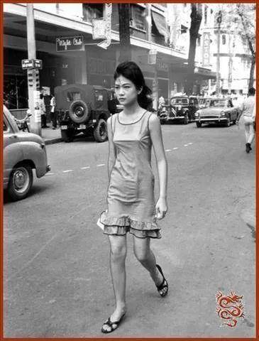 60年代的越南街拍,感觉比现在开放多了!