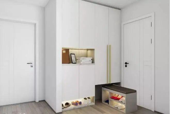 退休夫妻改造100㎡三室,极简风太美,网友:是90后想要的家